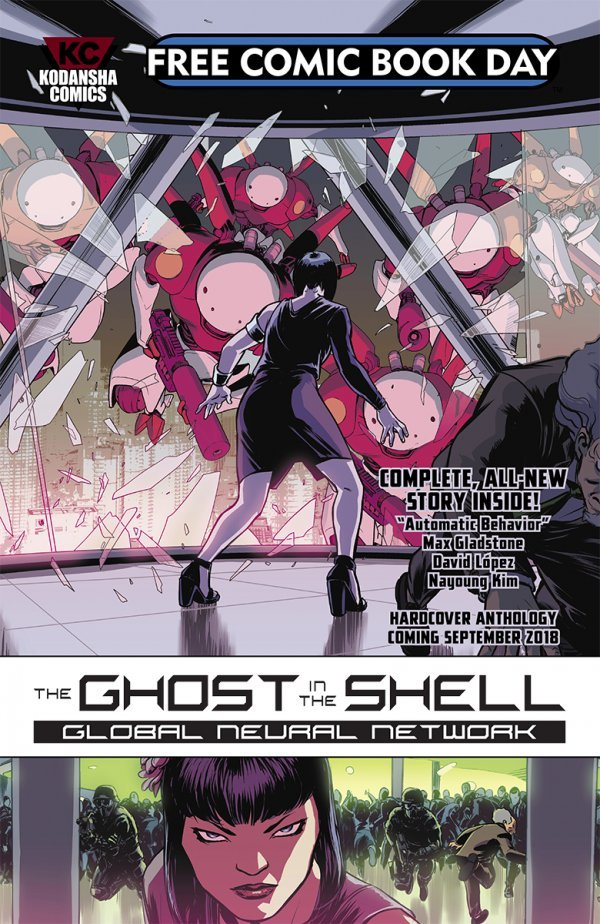 Free Comic Book Day 2018: Ghost In The Shell: Global Neural Network #1 review