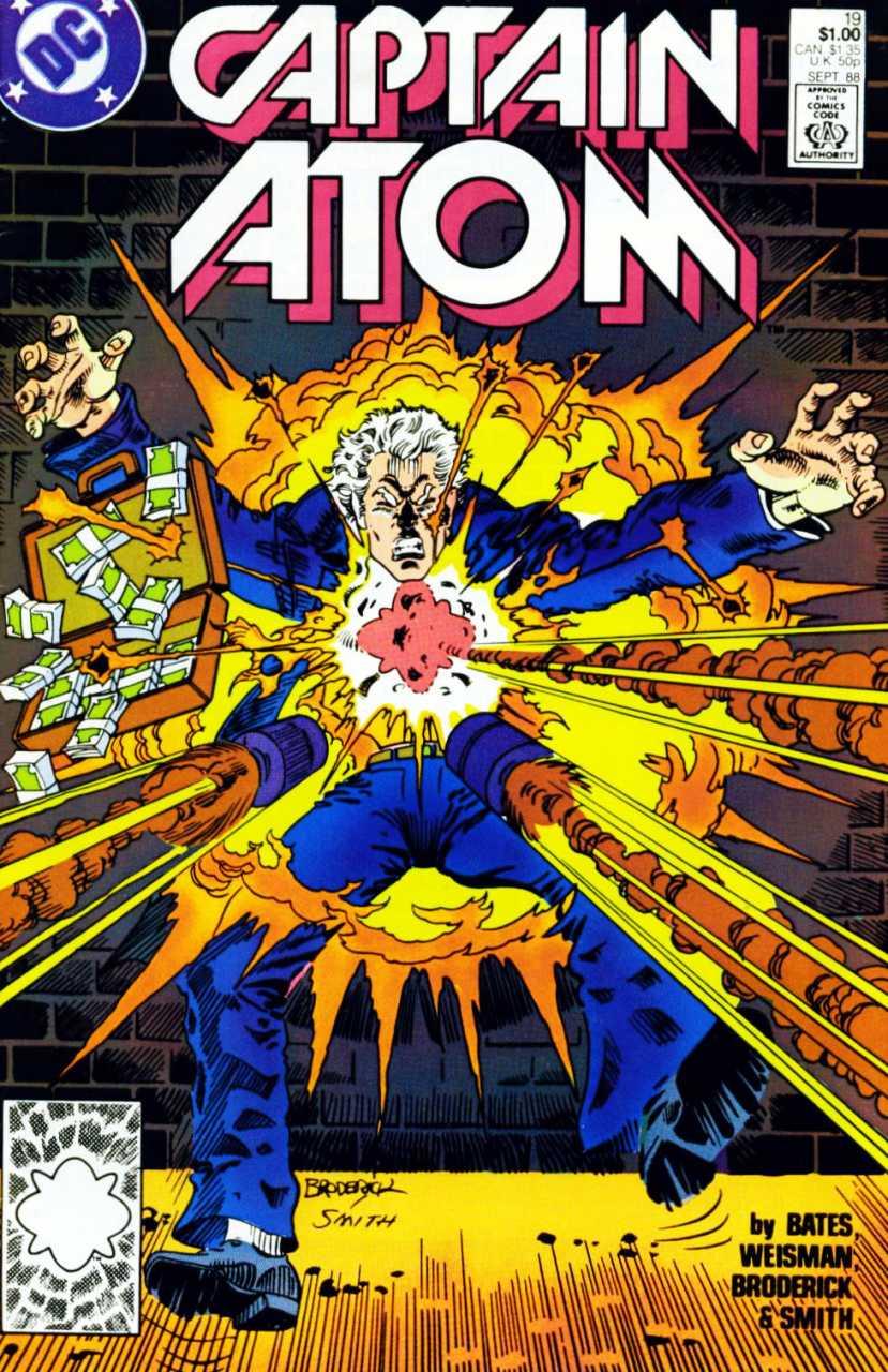 Captain Atom #19