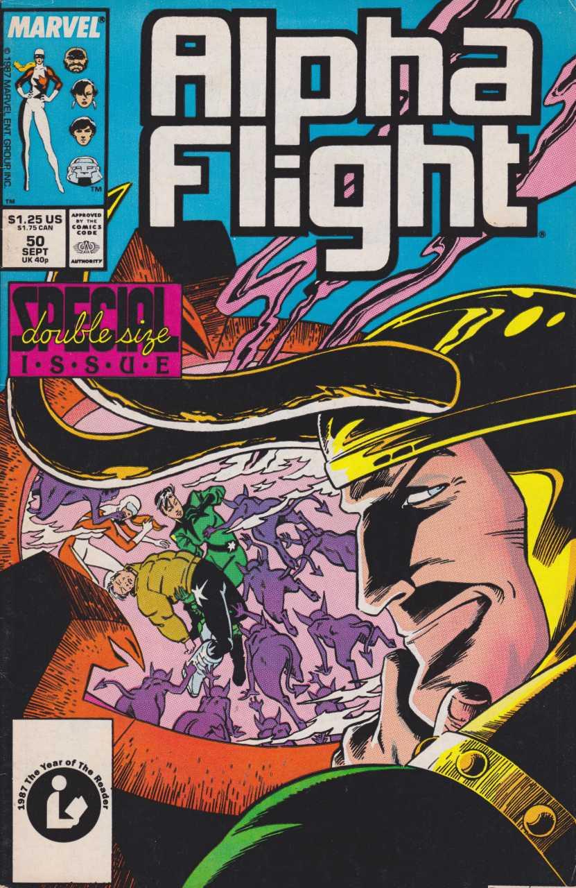 Alpha Flight #50