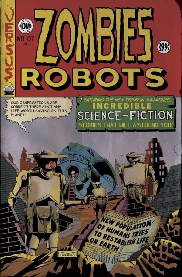 Zombies vs. Robots #7