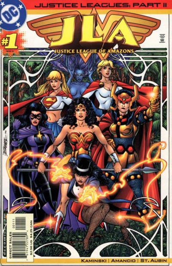 Justice Leagues: Justice League of Amazons #1