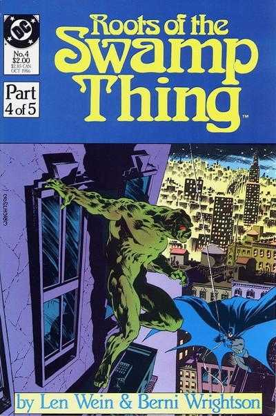 Roots of the Swamp Thing #4