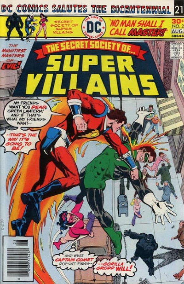 The Secret Society of Super-Villains #2