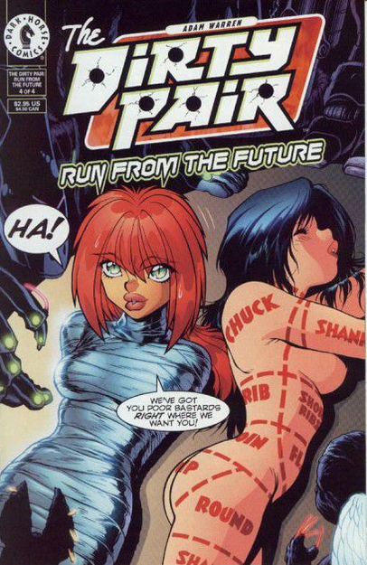 The Dirty Pair: Run From The Future #4
