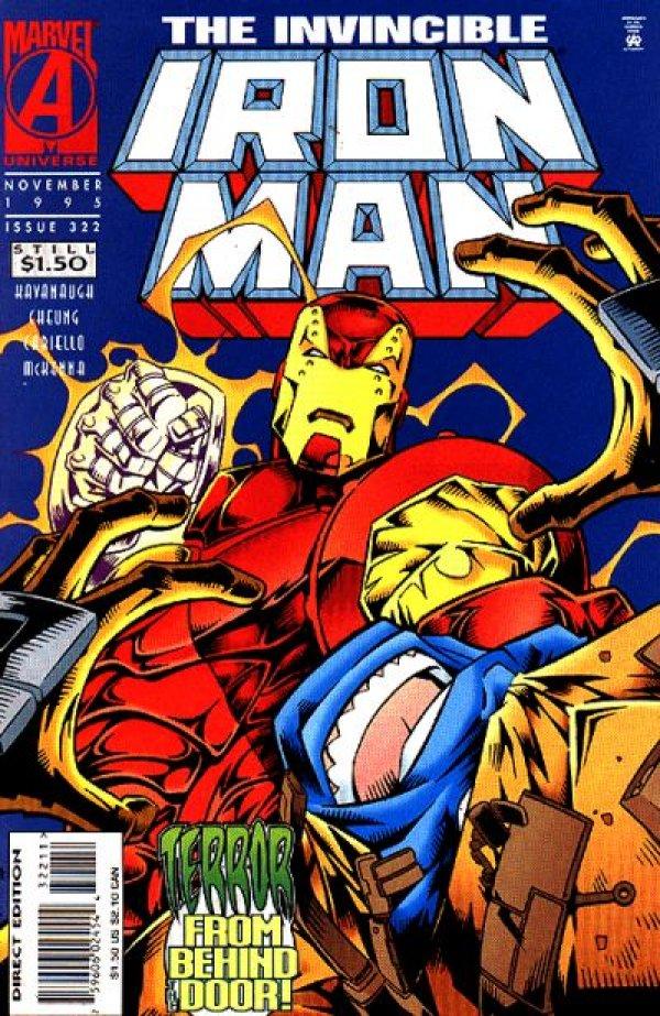Iron Man #322