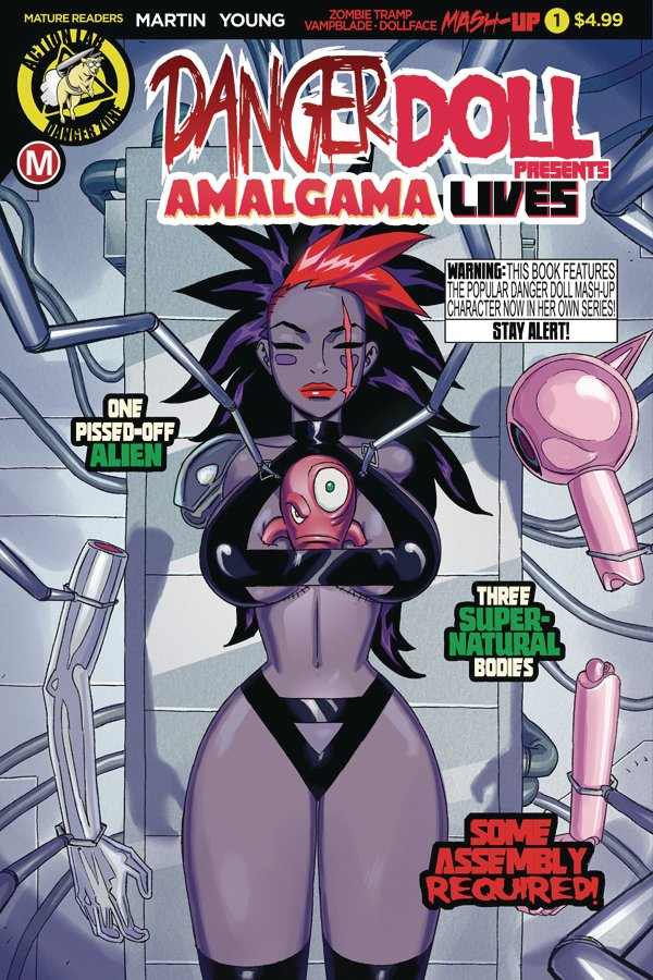 Danger Doll Squad Presents: Amalgama Lives #1