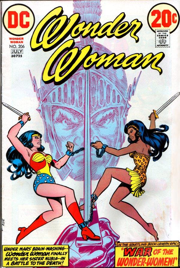 Wonder Woman #206