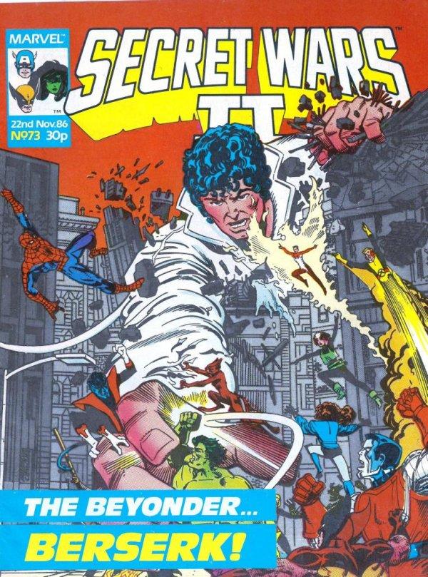 Marvel Super Heroes Secret Wars #73