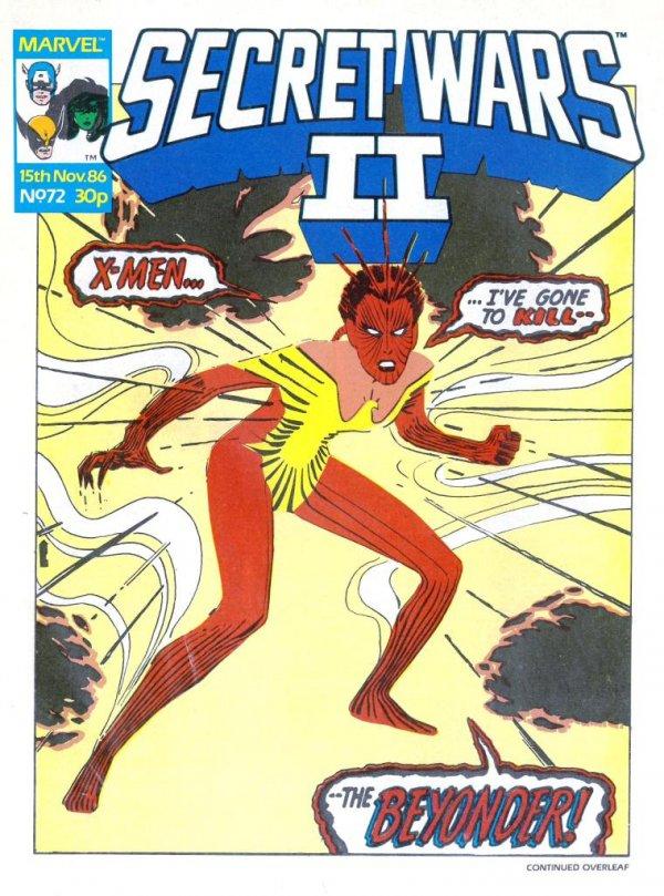 Marvel Super Heroes Secret Wars #72