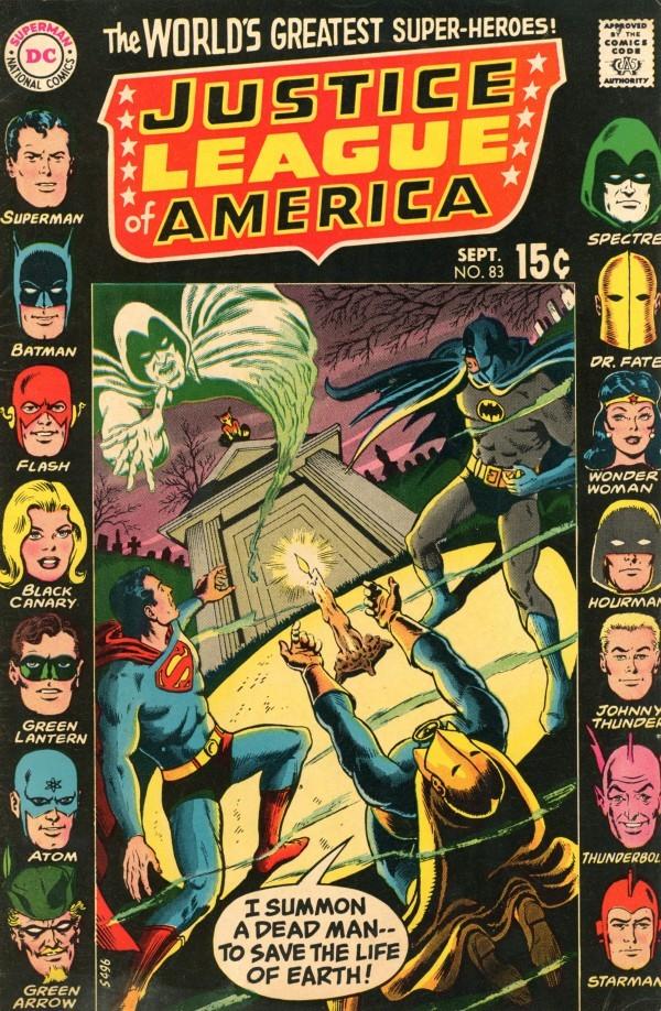 Justice League of America #83