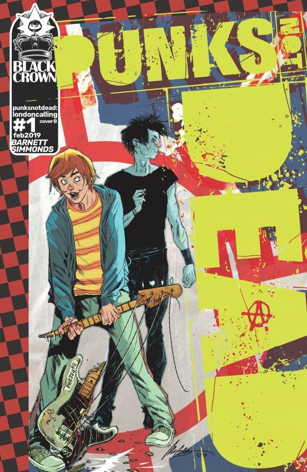 Punks Not Dead: London Calling #1