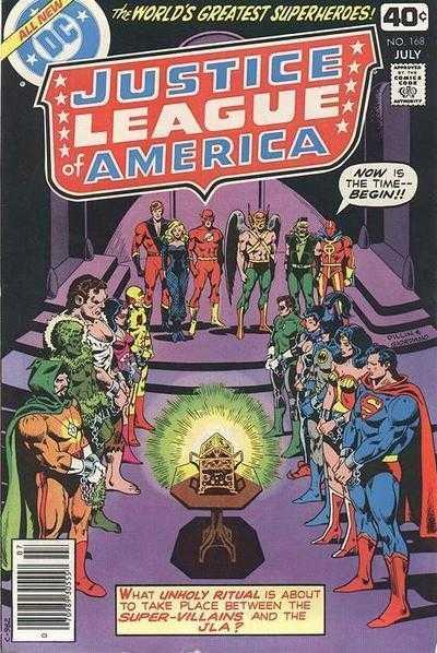 Justice League of America #168