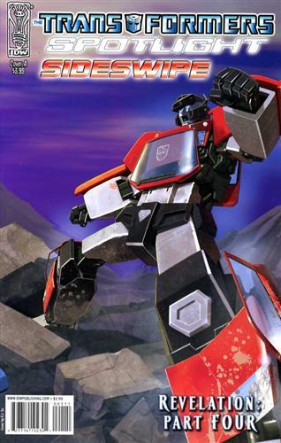 The Transformers Spotlight: Sideswipe