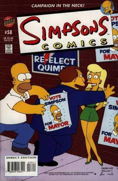 Simpsons Comics #58