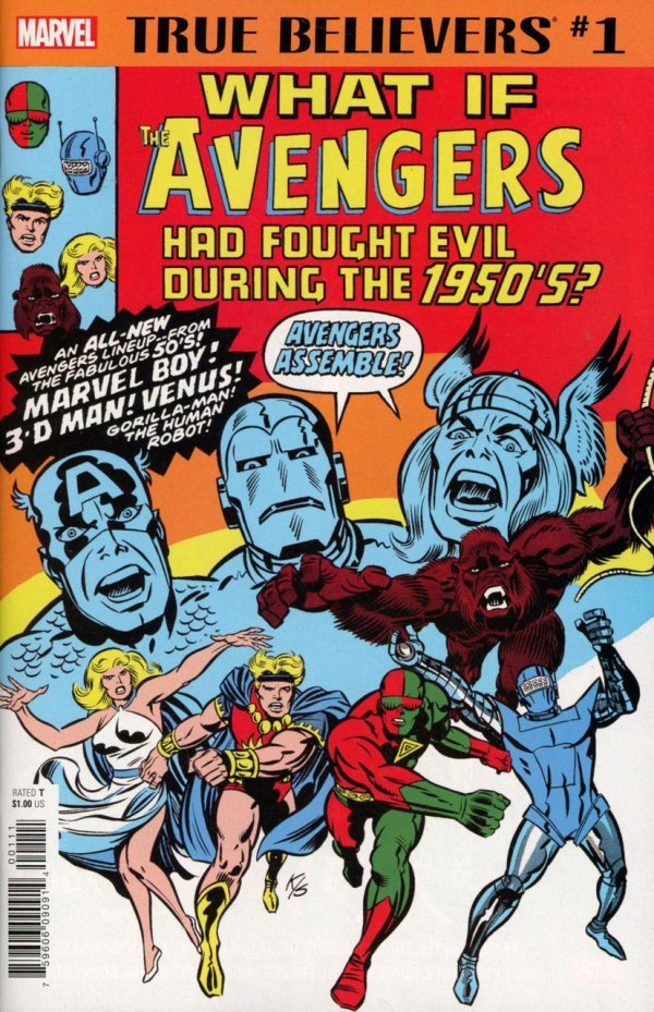 True Believers: What If Avengers Fought Evil During 1950s #1