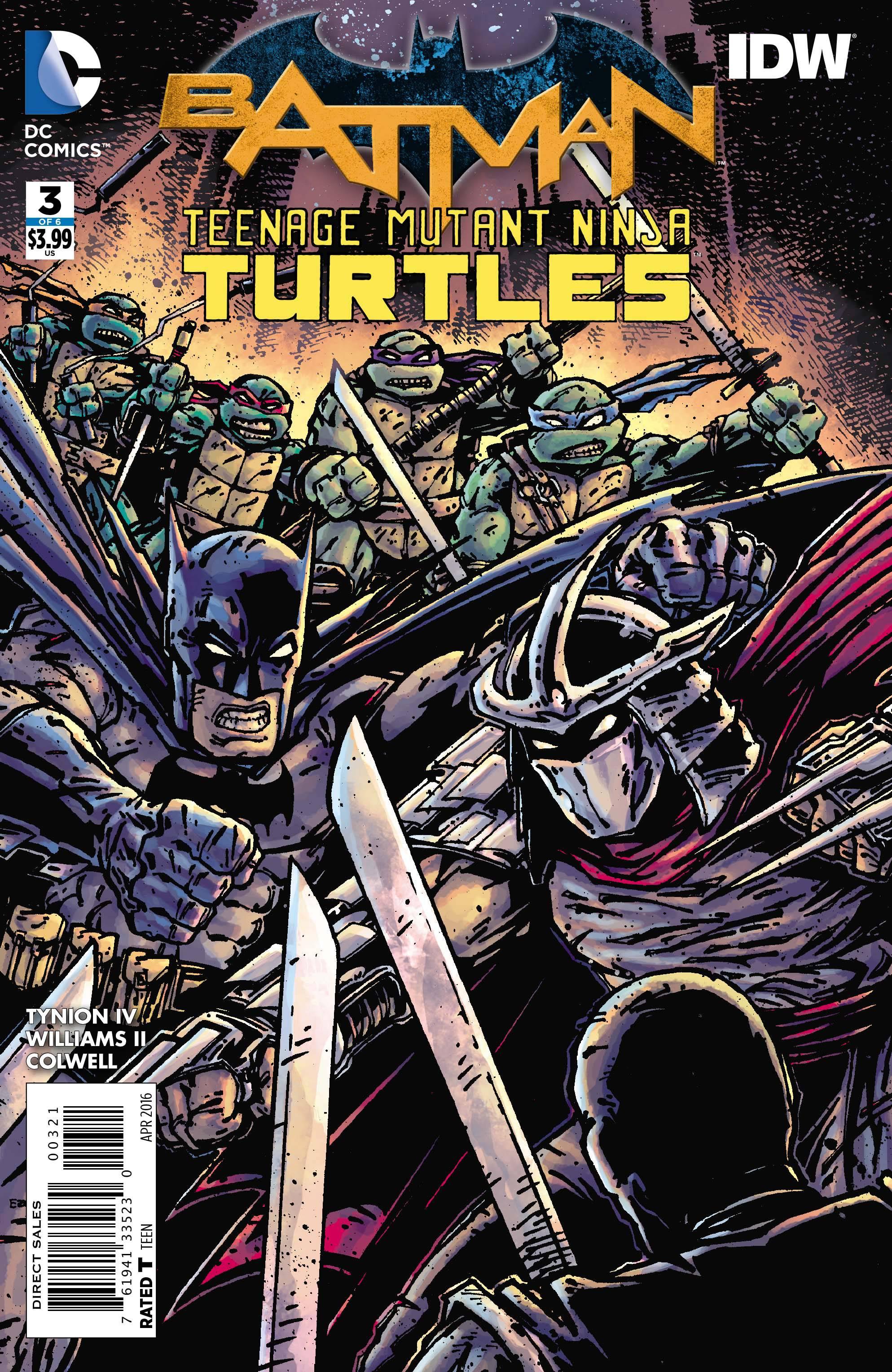 Batman / Teenage Mutant Ninja Turtles #3