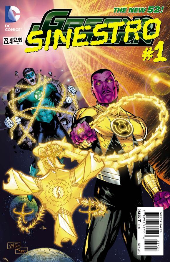 Green Lantern #23.4 Sinestro