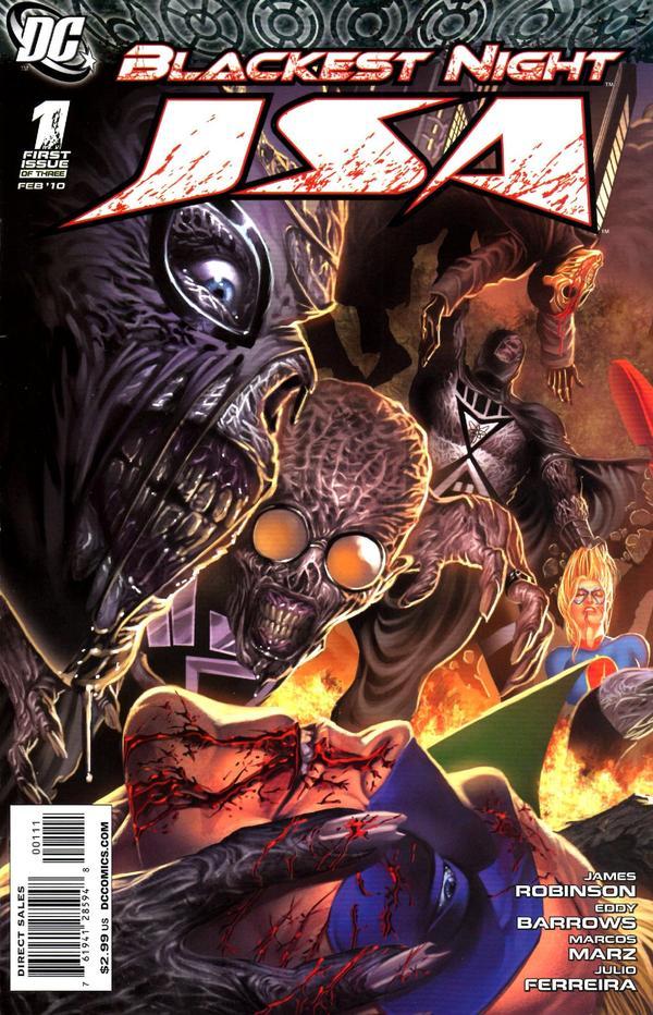 Blackest Night: JSA #1