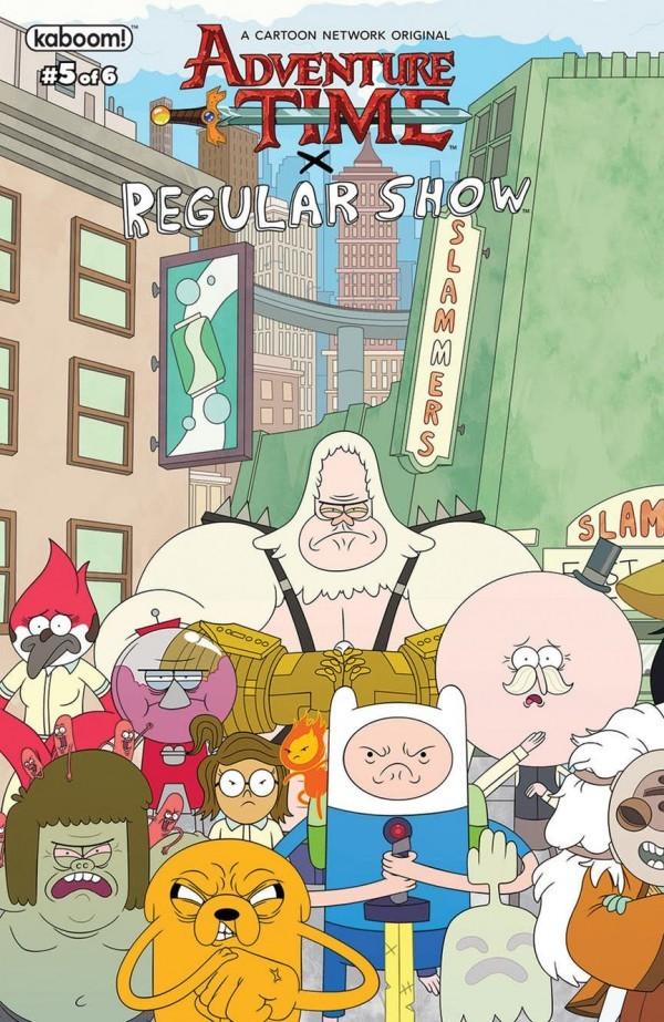 Adventure Time / Regular Show #5