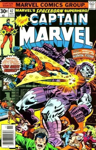 Captain Marvel #47
