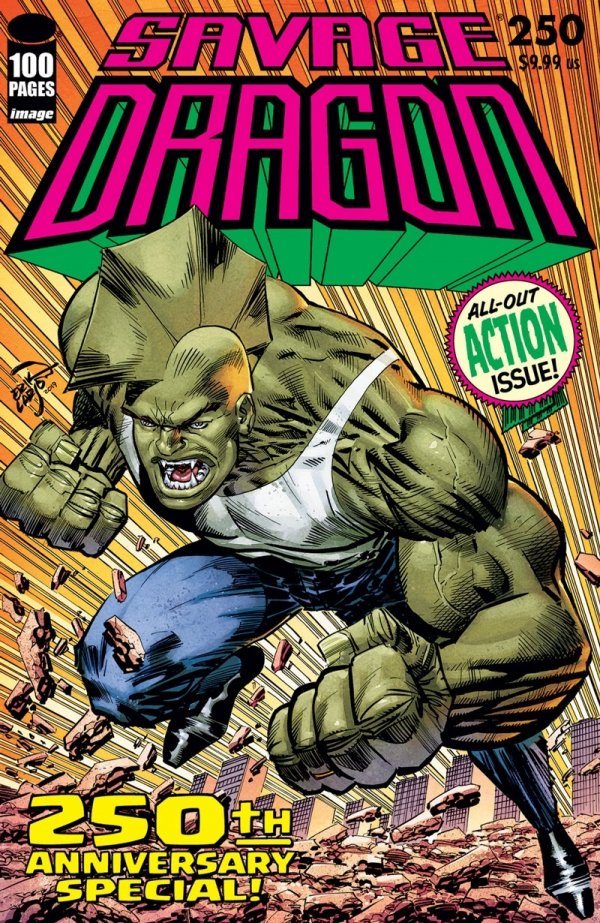 Savage Dragon #250