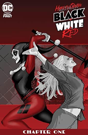 Harley Quinn: Black + White + Red #1 review