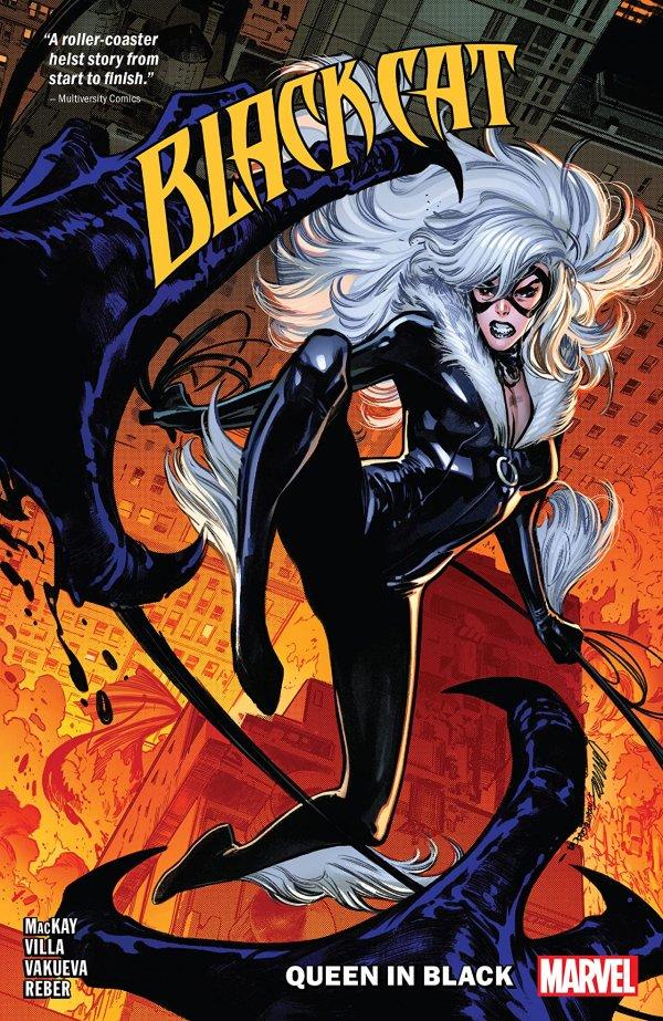 Black Cat Vol. 4: Queen in Black TP
