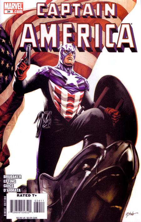 Captain America #34