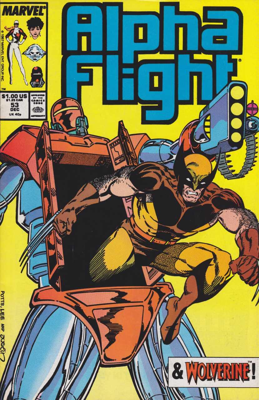 Alpha Flight #53