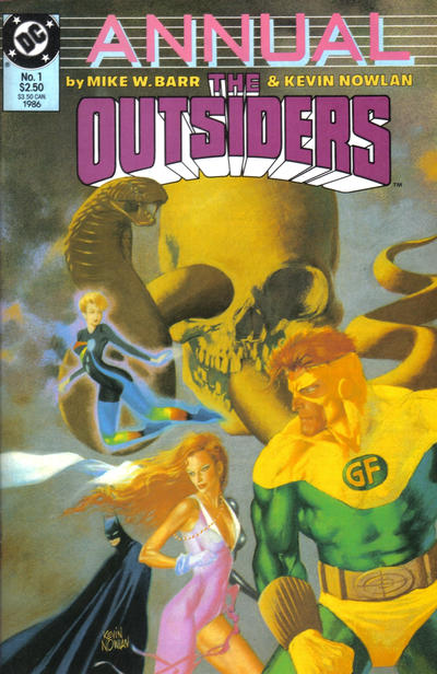 The Outsiders Annual #1