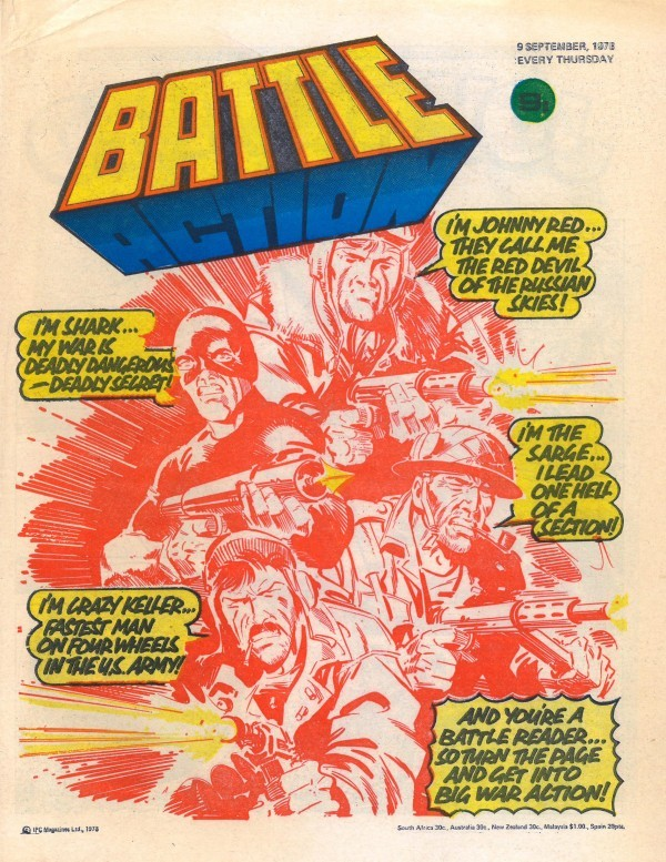 Battle Picture Weekly #184 (September 9th, 1978)