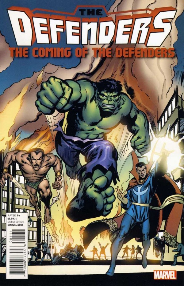 The Defenders: The Coming of the Defenders #1