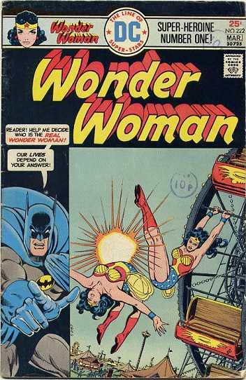 Wonder Woman #222