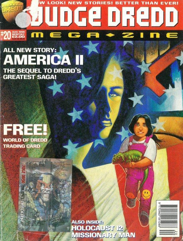 Judge Dredd Megazine #20