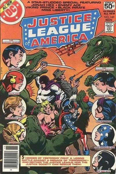 Justice League of America #160