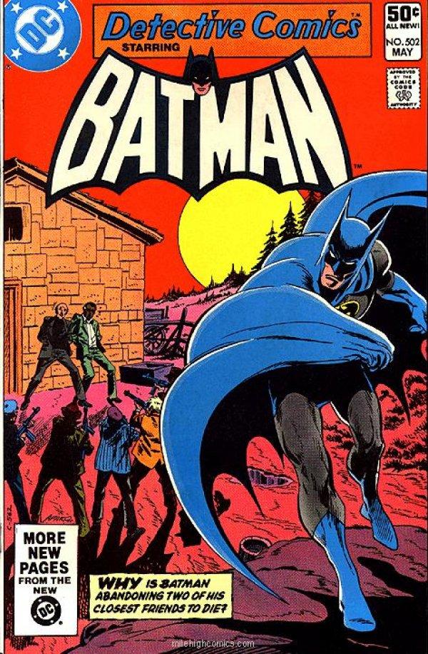 Detective Comics #502