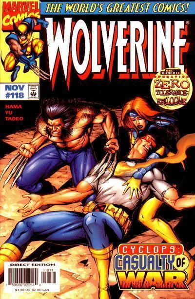 Wolverine #118