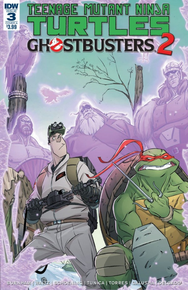 Teenage Mutant Ninja Turtles / Ghostbusters 2 #3