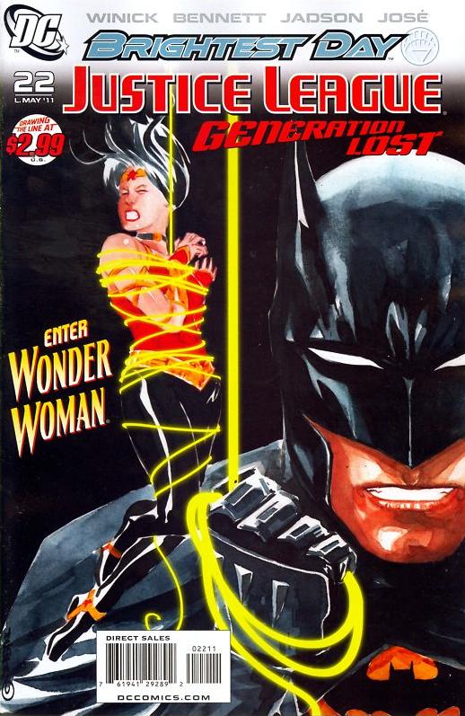 Justice League: Generation Lost #22