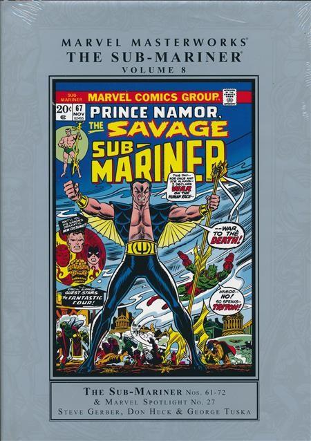 Marvel Masterworks: The Sub-Mariner Vol. 8 HC