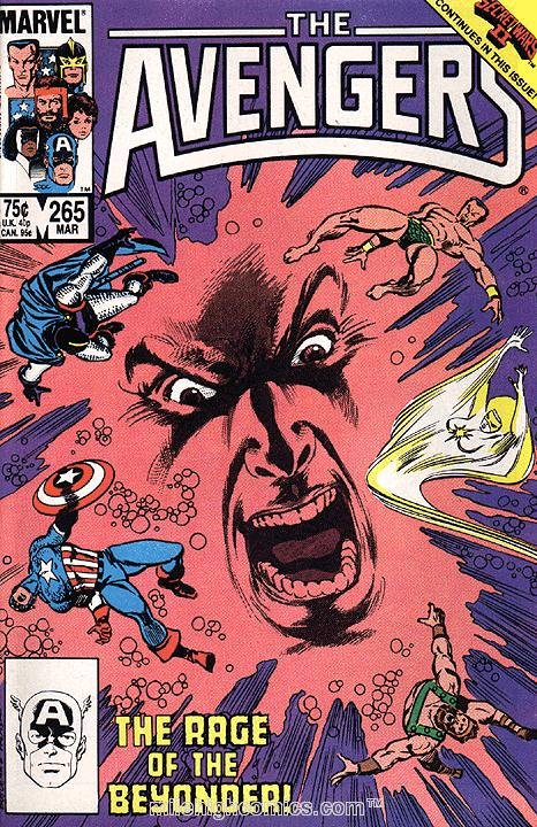 The Avengers #265