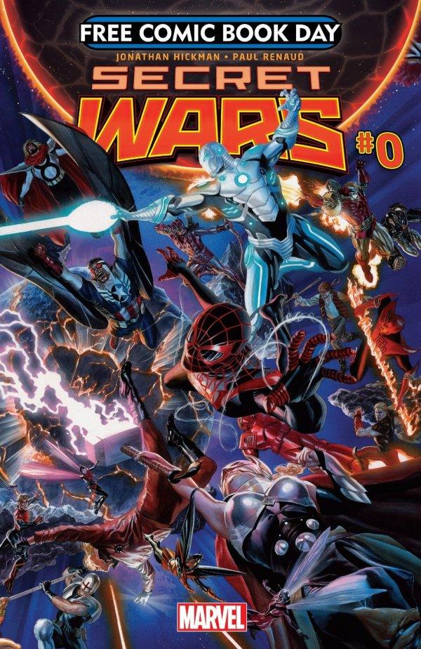 Free Comic Book Day 2015: Secret Wars #0