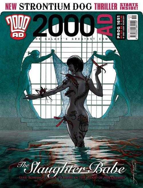 2000 AD #1651