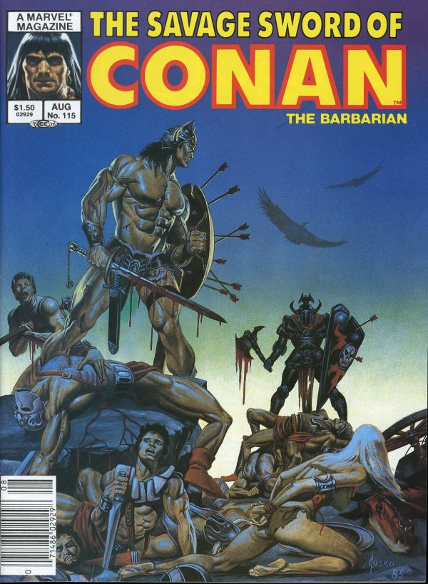 The Savage Sword of Conan #115