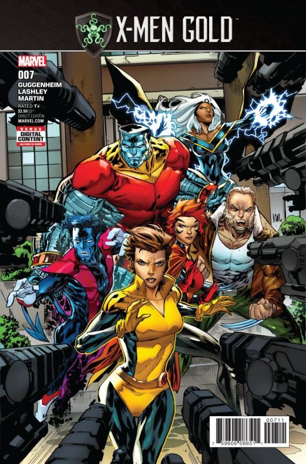 X-Men: Gold #7