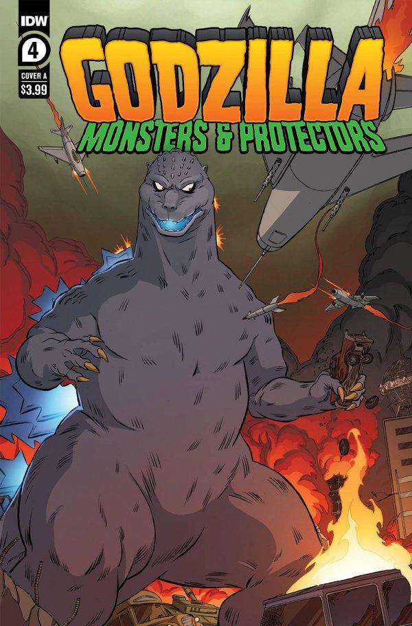 Godzilla: Monsters & Protectors #4