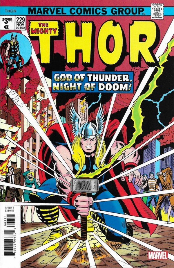 The Mighty Thor #229 Facsimile Edition