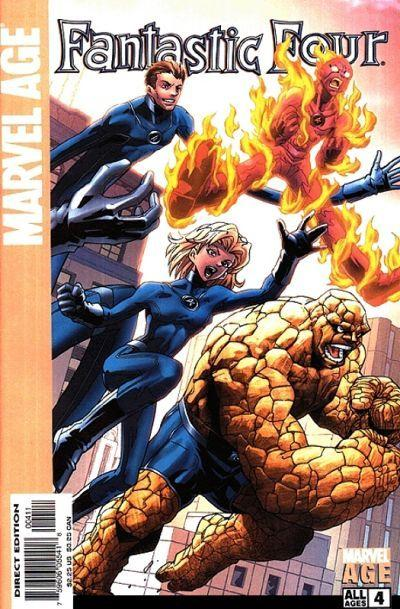 Marvel Age Fantastic Four #4