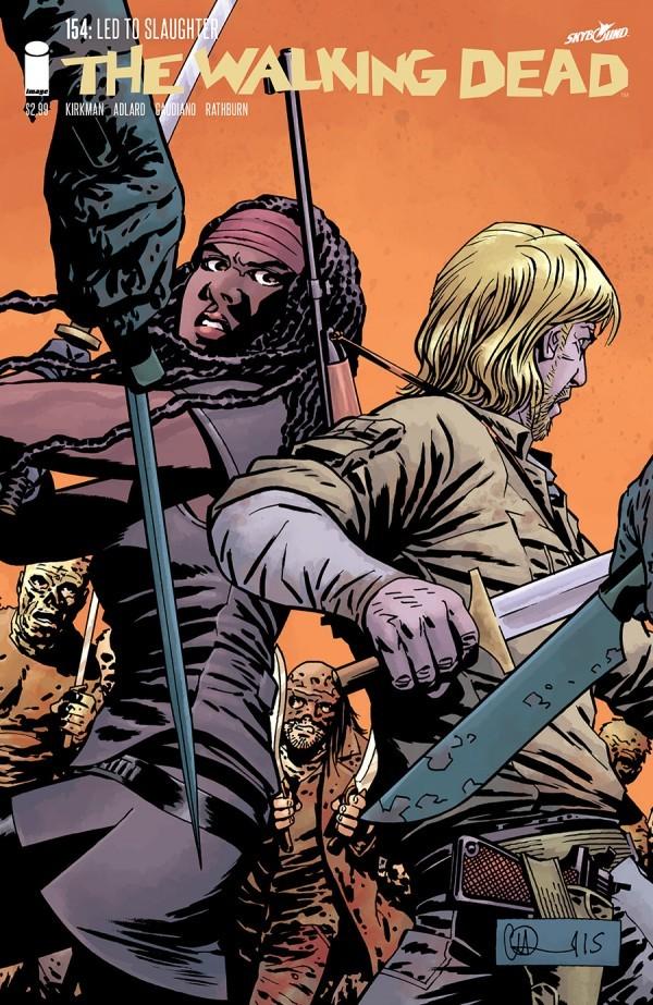 The Walking Dead #154
