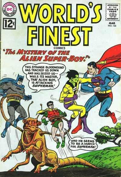 World's Finest Comics #124